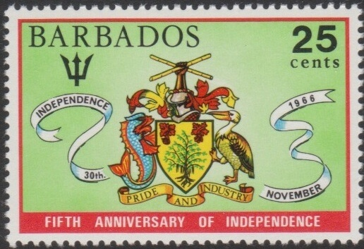Barbados SG438