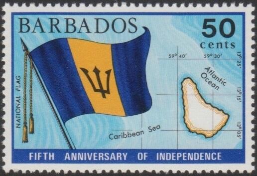Barbados SG439