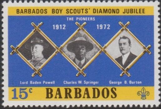 Barbados SG445