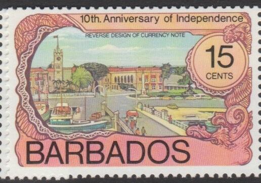 Barbados SG570