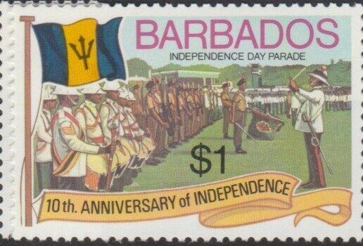 Barbados SG572