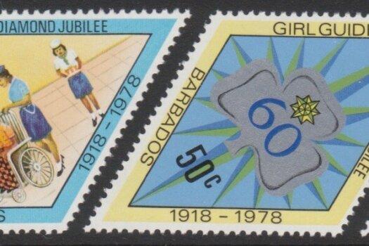 Barbados SG605-08