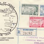 Barbados British West Indian Federation FDC
