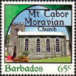 Churches of Barbados - 65c - Barbados SG1401