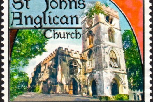 Churches of Barbados - $3 - Barbados SG1403