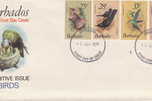 Barbados 1979 Birds Definitives FDC - illustrated cover (3)