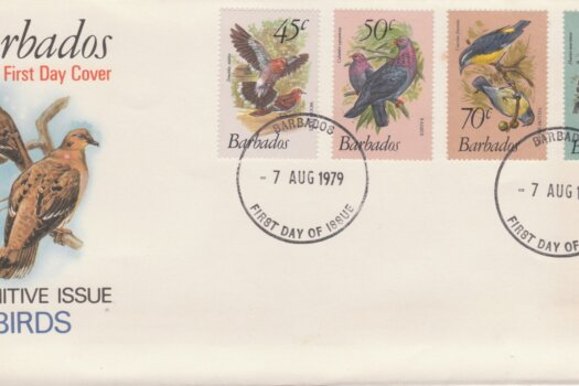 Barbados 1979 Birds Definitives FDC - illustrated cover (2)