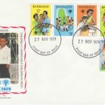 Barbados International Year of the Child FDC 1979 - illustrated cover