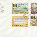 Barbados 10th Anniversary of Independence FDC 1976 - plain cover