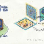 Barbados 1978 Girl Guides Diamond Jubilee FDC - illustrated cover