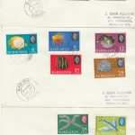 Barbados Marine Life Definitives FDC 1965 - set of 3 covers with Black Rock cancels