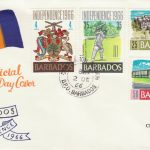 Barbados Independence FDC 1966 - illustrated cover