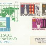 Barbados UNESCO 20th Anniversary FDC 1967 - illustrated cover