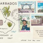 Barbados First Anniversary of Independence FDC 1967 - illustrated cover