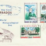 Barbados World Meteorological Day FDC 1968 - illustrated cover