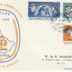 Barbados The Girl Guides Association FDC 1968 - illustrated cover