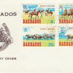 Barbados Horse Racing FDC 1962 - illustrated FDC