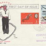 Barbados FDC - Harbour Police Centenary 30th August 1969