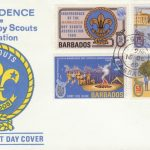Barbados Independence of the Boy Scout Association FDC 1969 - illustrated cover