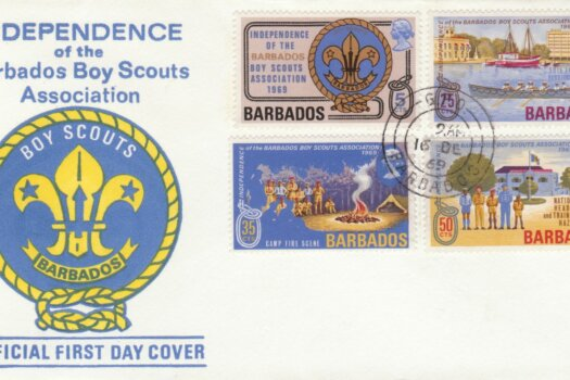 Barbados 1969 Independence of the Boy Scout Association FDC - illustrated cover
