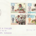 Barbados 1970 International Education Year FDC - plain cover