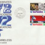 Telecommunications in Barbados FDC 1972 - illustrated cover