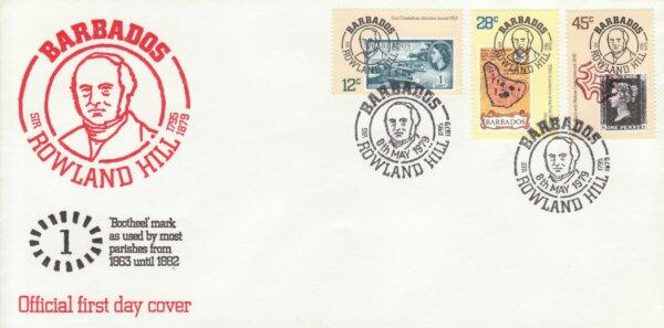 Barbados 1979 | Death Centenary of Sir Rowland Hill