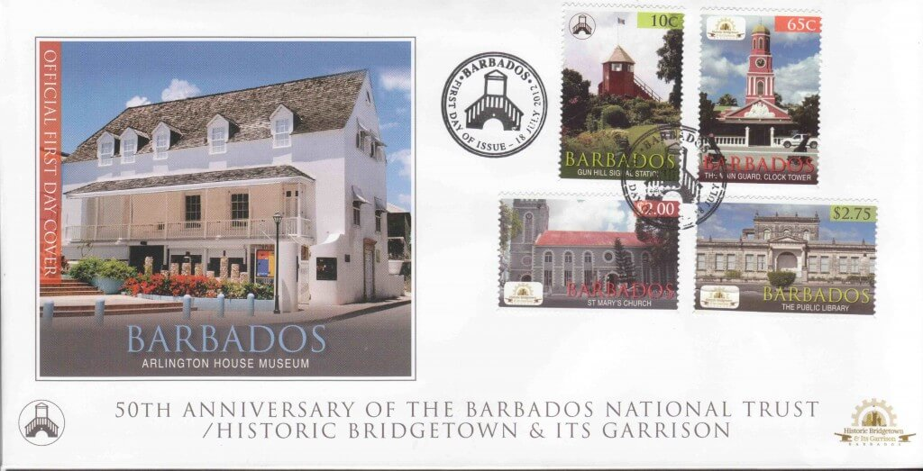 Barbados National Trust First Day Cover