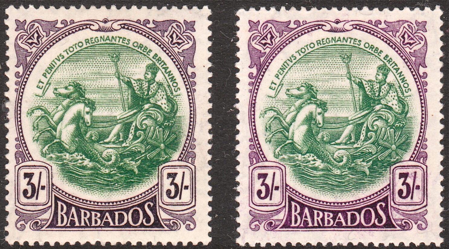 Barbados SG200 and SG200a