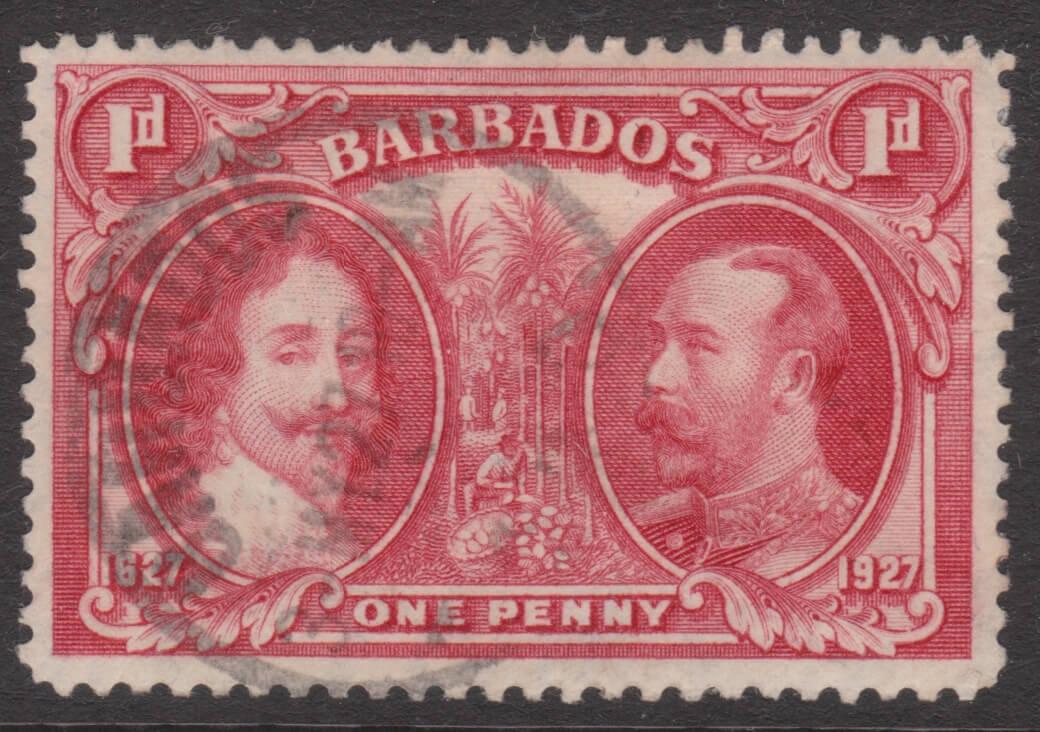 Barbados SG240 P12 x12½