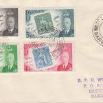Barbados Stamp Centenary FDC
