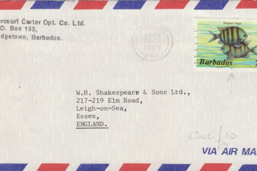 Barbados Postal History