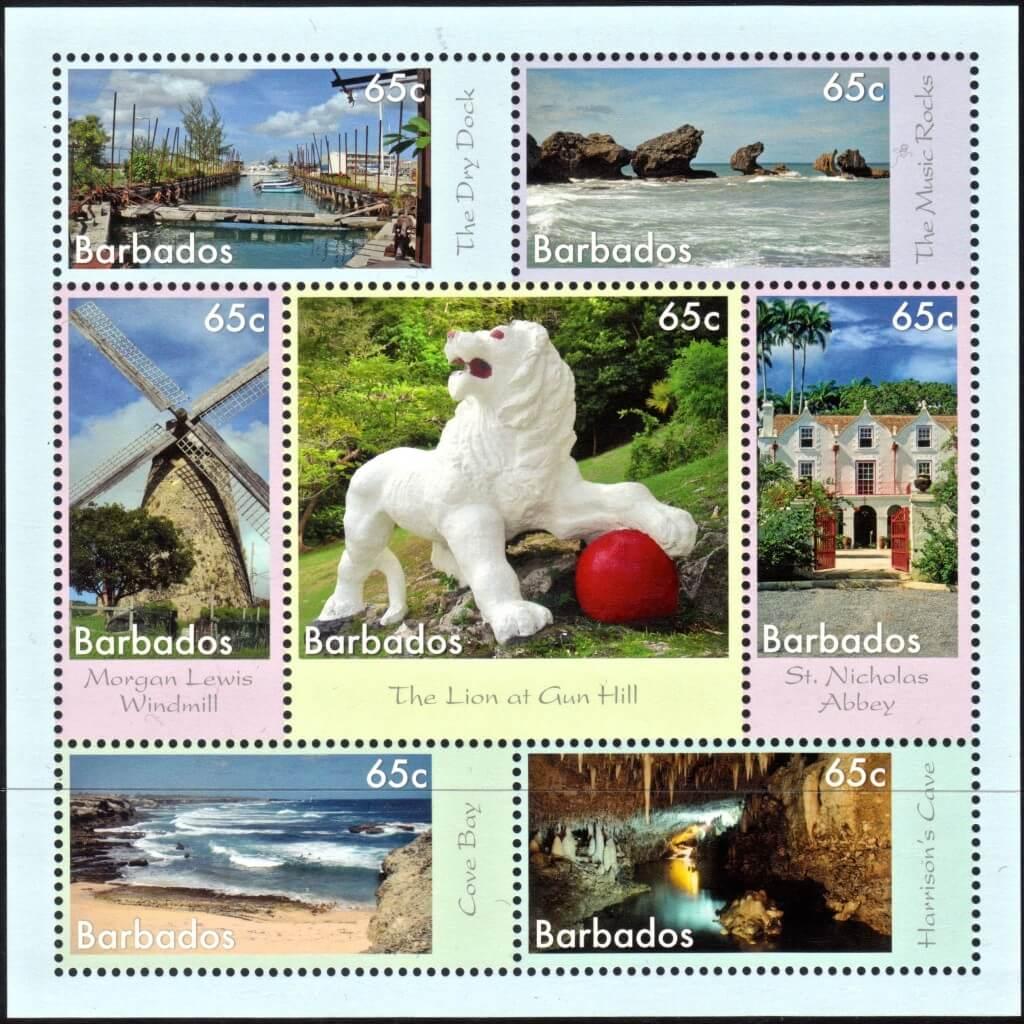 7 Wonders of Barbados Mini Sheet