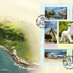 7 Wonders of Barbados Mini Sheet FDC