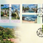 7 Wonders of Barbados Stamps FDC