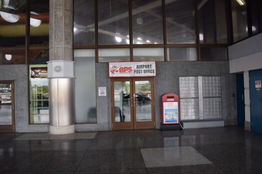 The Post office at GAIA
