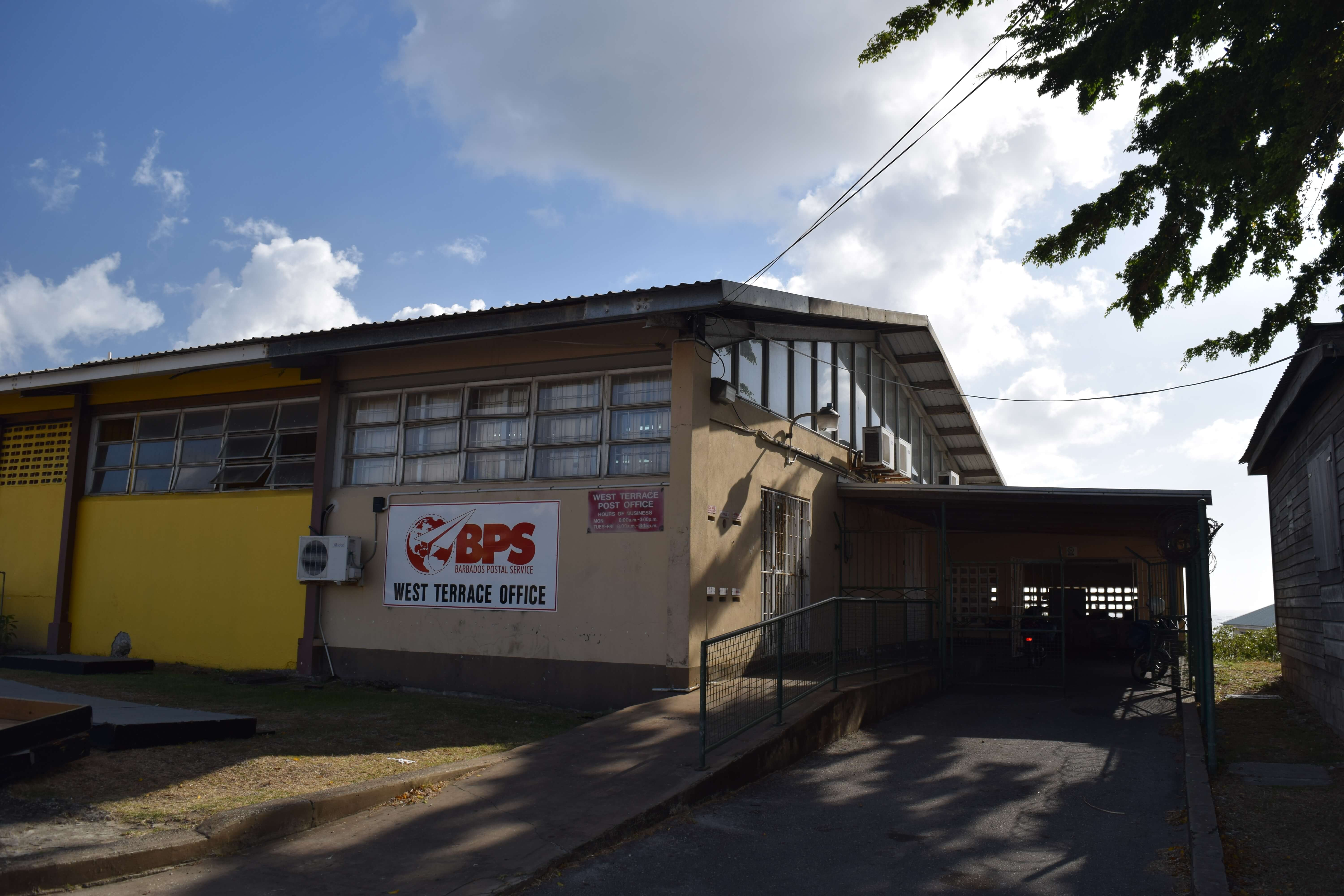 West Terrace Post Office, St James, Barbados closes for good