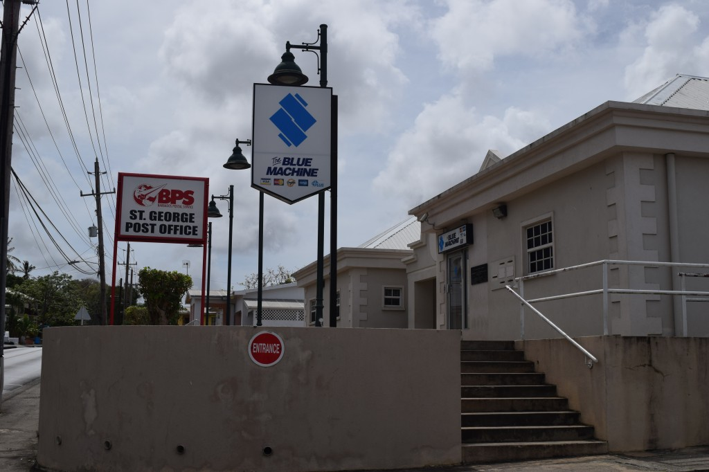 St George Post Office, Barbados