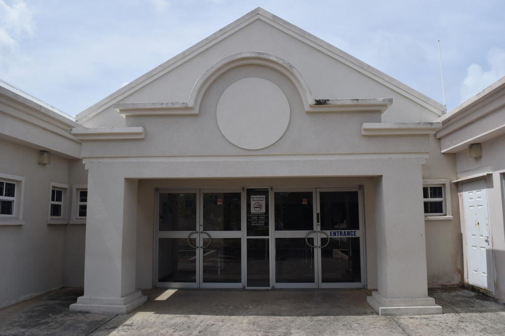 Entrance to St George Post Office, Barbados
