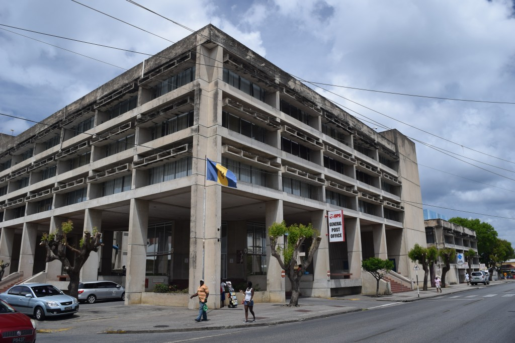 General Post Office, Cheapside, Bridgetown, Barbados