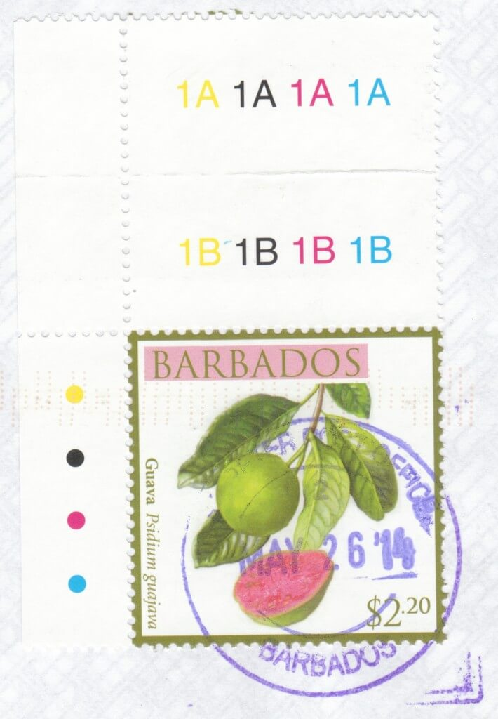 Cancel from St Peter Post Office, Barbados