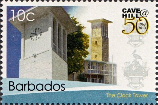 50th Anniversary of the University of the West Indies Cave Hill Campus Barbados - 10c stamp