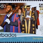 50th Anniversary of the University of the West Indies Cave Hill Campus Barbados - $2.50 stamp