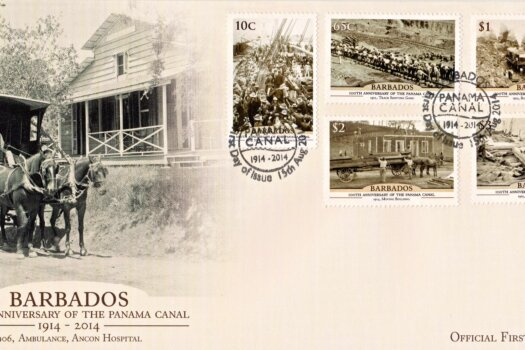 Barbados 100th Anniversary of the Panama Canal First Day Cover