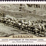 Barbados100th Anniversary of the Panama Canal - 65c