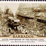 Barbados100th Anniversary of the Panama Canal - $1