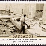 Barbados100th Anniversary of the Panama Canal - $3
