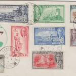 Barbados George VI First Day Cover 1950 - low values