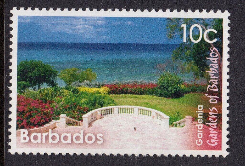 Gardenia Gardens stamp - Barbados
