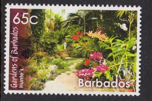 Hunte's Gardens stamp, Barbados